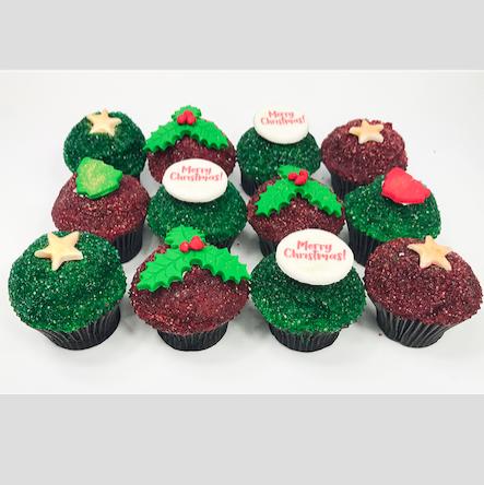 Christmas Mini Cupcake