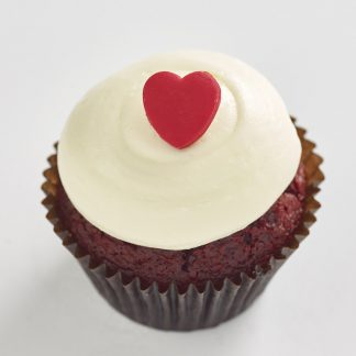 Red Velvet Classic size cupcake