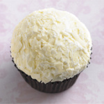 Triple White Chocolate Cupcake