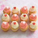 vanilla petite cupcakes