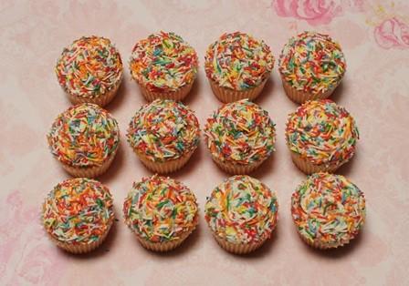 happy birthday petite cupcakes
