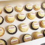 Canon corporate cupcakes