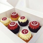 Rydges logo cupcake