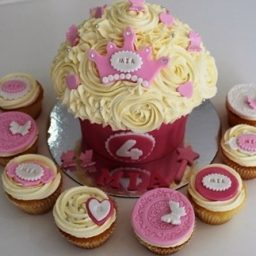 Fit for a Princess Giant Cupcake