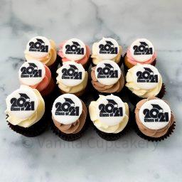 Graduation cupcakes mini 2021