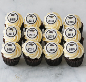 Graduation petite mini cupcakes Sydney