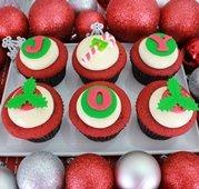xmas cupcakes red velvet