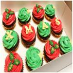 Christmas 12 pack  Cupcakes