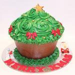 Christmas maxi cupcake