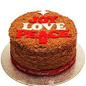 flake christmas cake