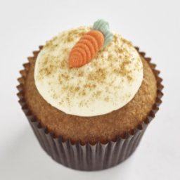 Carrot Classic size cupcake