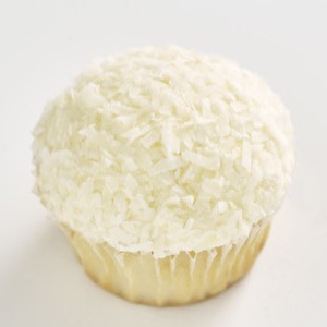 Coconut Classic size cupcake