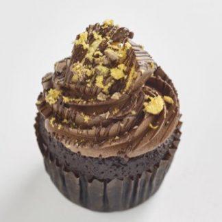 Crunchie Classic size cupcake