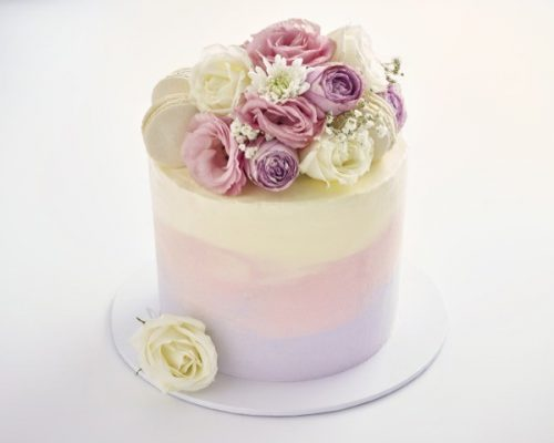 Flower Cake colour fade