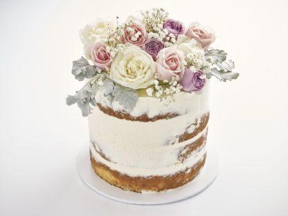 Flower Naked Cake
