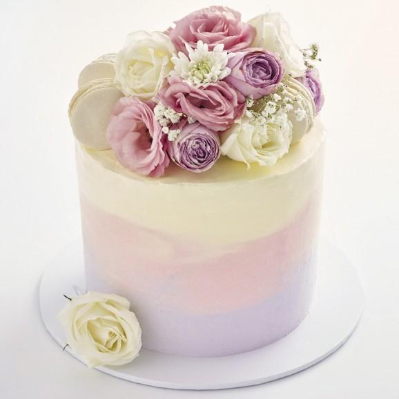 Flower Tall Cake