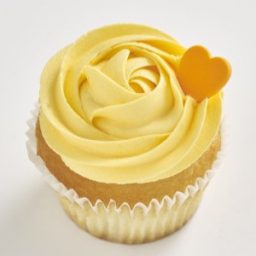 Orange and Mango Classic size cupcake