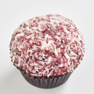 Red Velvet Lamington Classic size cupcake