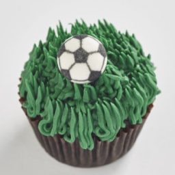 Soccer Classic size cupcake