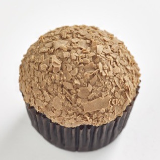 Triple Chocolate Classic size cupcake