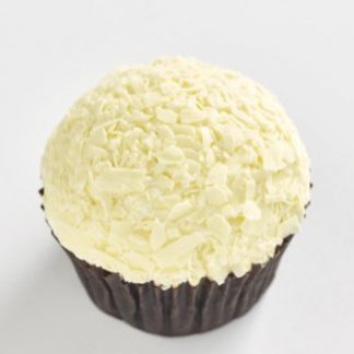 Triple White Chocolate classic size cupcake