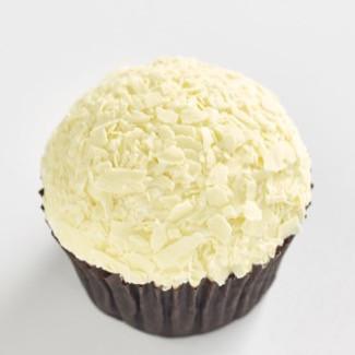 Triple White Chocolate classic size cupcake