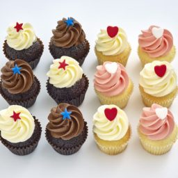 Assorted mini cupcakes