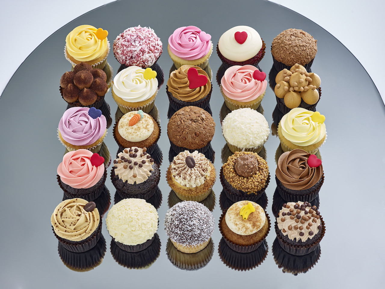 Sixty Six Assorted Cupcake Pack 1 Cupcakes Sydney