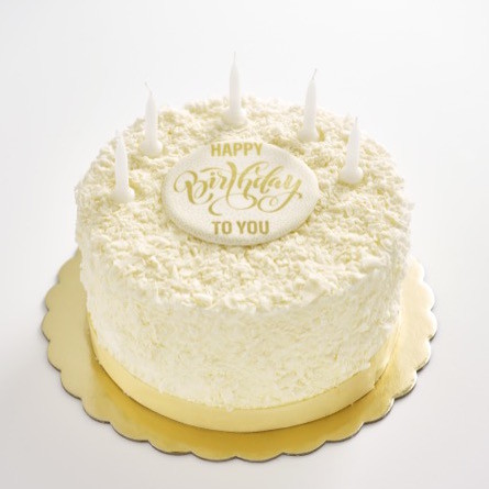 Strange Vanillacupcakery White Chocolate Flake Birthday Cake Funny Birthday Cards Online Aeocydamsfinfo
