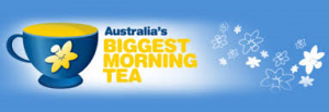 Australias biggest morning tea banner