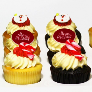 Seasonal Cupcakes Chrismas 12 pack