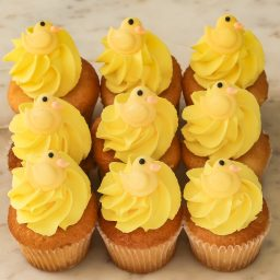 Baby Shower Yellow Duck cupcakes