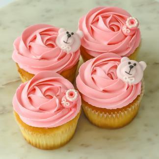 Baby shower girl cupcakes sydney