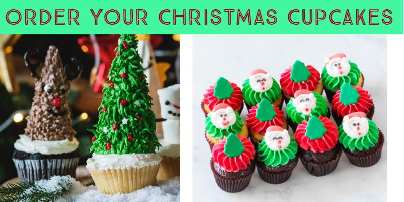 Christmas Cupcakes 2018