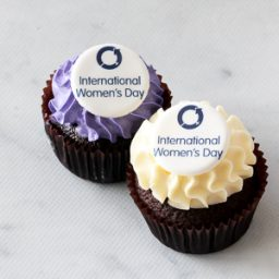 International Women's Day Classic cupcakes