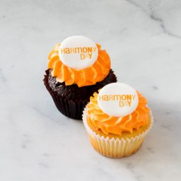 Harmony Day Classic size cupcakes