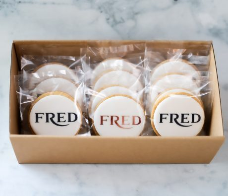 FRED Corporate Logo Cookies