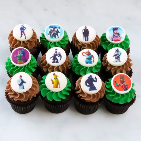 Fortnite mini cupcakes