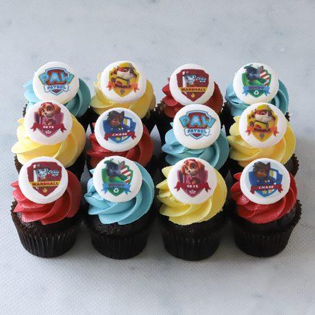 Paw Patrol Mini Cupcakes
