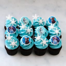 Frozen mini cupcakes